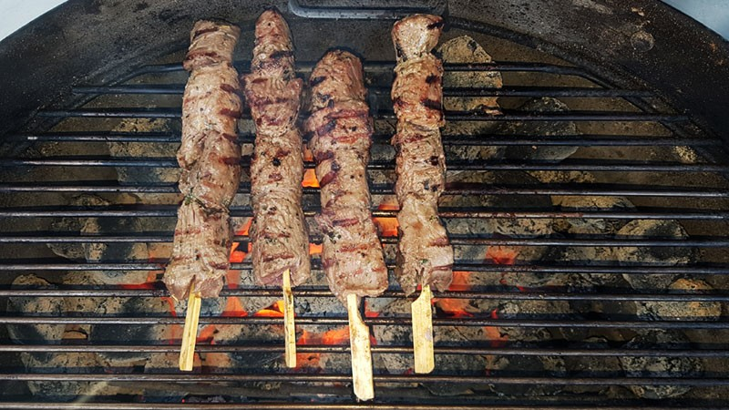 Indirect barbecueën